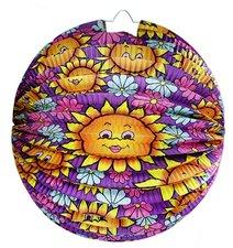 RAPPA Lampion koule - slunečnice, 25 cm