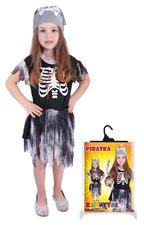 Karnevalový kostým Pirátka skeletonka, vel. S