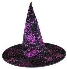 Klobouk čarodějnický/Halloween fialový, dospělý