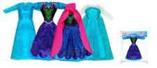 Rappa Oblečení pro panenku zimní království, 4 druhy