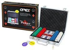 Rappa Hra Poker deluxe v kufříku 200 žetonů