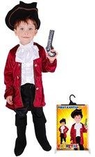 Karnevalový kostým Kapitán Hook, vel. S