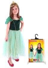 Karnevalový kostým Princezna Anička zelená, vel. S