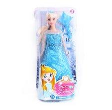 Rappa Panenka zimní království princezna blond 29 cm