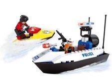 Rappa Stavebnice AUSINI policejní člun 114 dílů