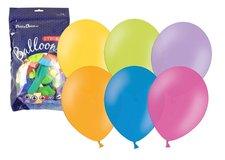 RAPPA Balónek nafukovací 27 cm metalický v uzavíratelném balení