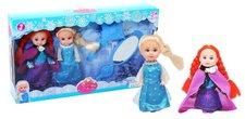 Rappa Set panenky zimní království s příslušenstvím