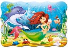 CASTORLAND maxi puzzle pro děti 20 dílků Malá mořská víla