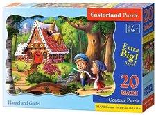 Puzzle Castorland 20 dílků podlahové - MAXI - Jeníček a Mařenka