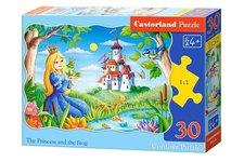 Puzzle Castorland 30 dílků - Princezna a žábák
