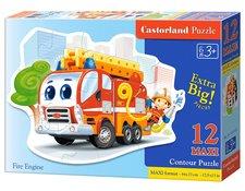 Puzzle Castorland Fire Engine 12 dílků