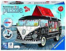VW Autobus pojízdné občerstvení; 3D, 162 dílků