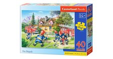 Puzzle Castorland - Hasiči - 40 maxi dílků