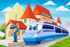 Castorland Železniční stanice 40 dílků