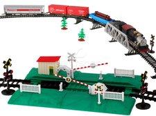 Vláčkodráha s parní lokomotivou