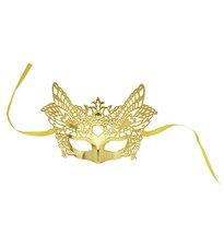 Zlatá benátská maska