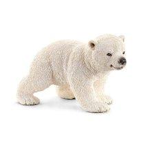 Schleich - Zvířátko - mládě ledního medvěda chodící