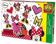 SES Zažehlovací korálky Minnie Mouse velká sada