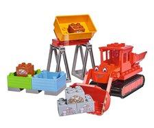 PlayBLOXX Bořek Max červený buldozer