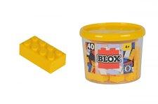 Simba Blox 40 Kostičky žluté v boxu
