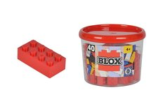 Simba Blox 40 Kostičky červené v boxu