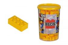 Simba Blox 100 Kostičky žluté v boxu