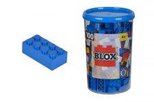 Simba Blox 100 Kostičky modré v boxu