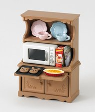 Sylvanian Families Vybavení - skříň s mikrovlnnou troubou