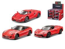 Mikro Trading Auto Bburago 7cm kov 1:64 Ferrari Race & Play asst v krabičce 24ks v DBX