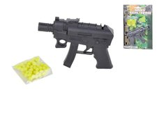 Mikro Trading Pistole na kuličky 12cm + kuličky na kartě