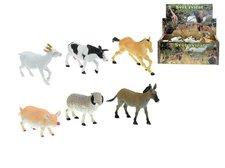 Mikro Trading Zvířátka farma plast 14-17cm asst 6 druhů 3