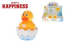 Mikro Trading Kačenka Roly Poly plast 8cm 6m+  Baby´s Happiness