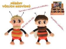 Mikro Trading Příběhy včelích medvídků - Čmelda a Brumda plyš 15cm na baterie s písničkami 12k