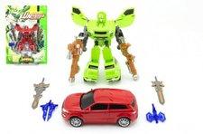 Teddies Transformer auto/robot 23cm asst 2 barvy na kartě