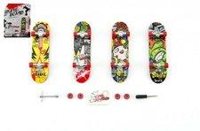 Teddies Skateboard prstový plast 10cm s doplňky asst na kartě