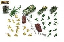Teddies Sada vojáci s doplňky plast v sáčku 18x25cm