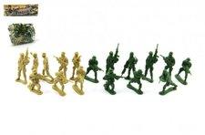 Teddies Sada vojáci plast v sáčku 18x20cm