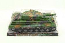 Teddies Tank plast 34cm na setrvačník v blistru