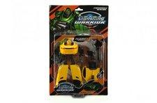 Teddies Transformer auto/robot plast 18cm asst 2 barvy na kartě