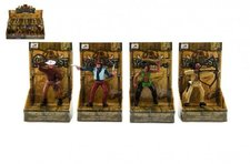 Teddies Figurka kovboj/indián plast 10cm asst mix druhů v krabičce 12ks v boxu