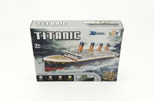 Teddies Pěnové puzzle 3D Titanic 80x20x11cm 113 dílků v krabici