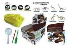 Teddies Sada archeolog Dinosaurus svítící ve tmě asst v krabičce 12x8x4cm
