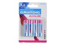 Teddies Baterie Grundig  LR6/AA 1,5V Alkaline 4ks na kartě