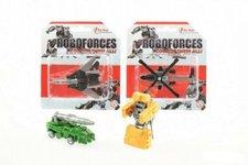 Teddies Transformer bojové vozidlo/robot plast 8cm asst 4 druhy na kartě