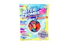 Teddies Vodní bomby +/-100ks se samotěsnícím úzávěrem a nástavcem na kohoutek v sáčku