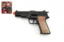 Teddies Pistole kapslovka kov 14cm 8 ran na kartě