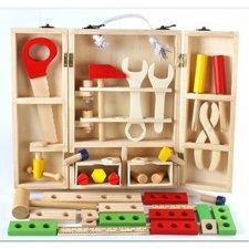 Classic World dřevěné dětské nářadí v kufříku