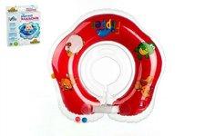 Plavací nákrčník Flipper/Kruh červený v krabici od 0 měsíců