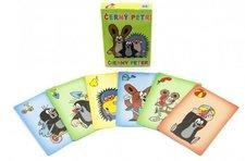 Akim Černý Petr Krtek společenská hra - karty v papírové krabičce