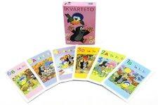 Akim Kvarteto Krtek a sýkorka společenská hra - karty v papírové krabičce
